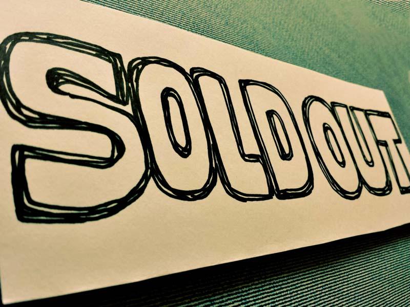 売り切れ・品切れ・SoldOutイメージ
